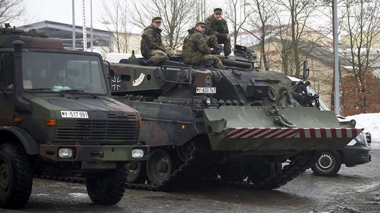 El Ejército de Alemania ha agotado casi por completo su reserva de municiones