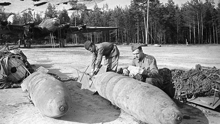 Rusia encuentra una bomba de 250 kg de la II GM cerca de unas viviendas (FOTO)