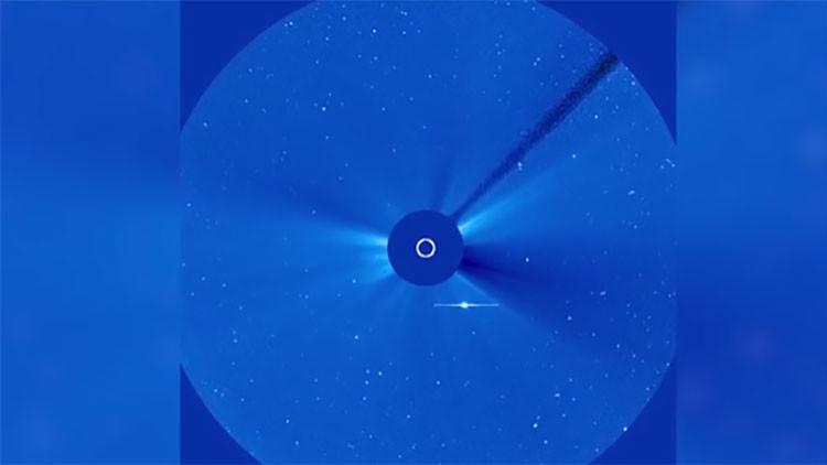 VIDEO: Científicos logran captar una extraña explosión en la atmósfera solar