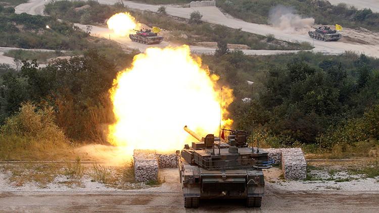 """Pionyang: Los ejercicios militares de EE.UU y Corea del Sur podrían derivar en una """"guerra real"""""""