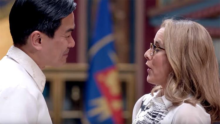 Manila se queja por la aparición de un 'presidente filipino' lascivo en una popular serie de EE.UU.