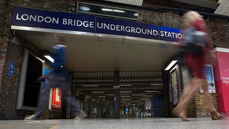 Cierran una estación de metro de Londres por un vehículo sospechoso