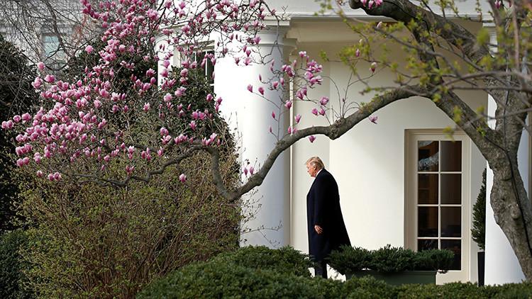 Televisión, tuits y hamburguesas: Así es la vida de Donald Trump en la Casa Blanca