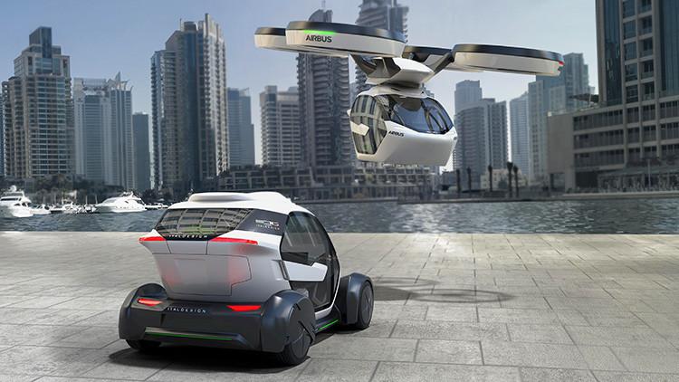 ¿Adiós a los atascos?: Airbus propone un coche dron (VIDEO, FOTO)