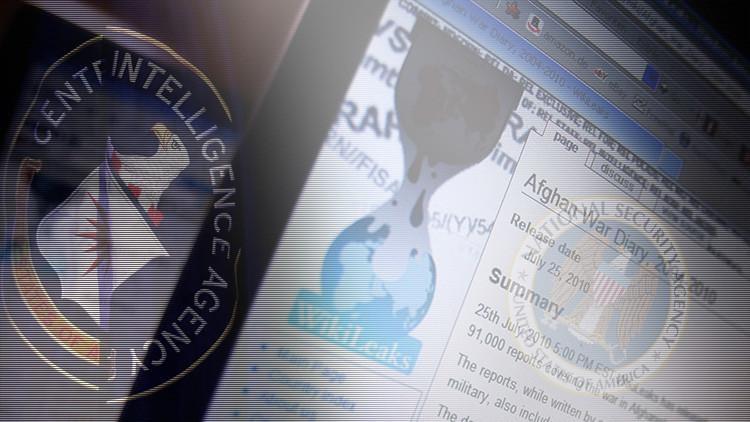 """La CIA y la NSA """"rabian"""" por la publicación de sus documentos por WikiLeaks"""