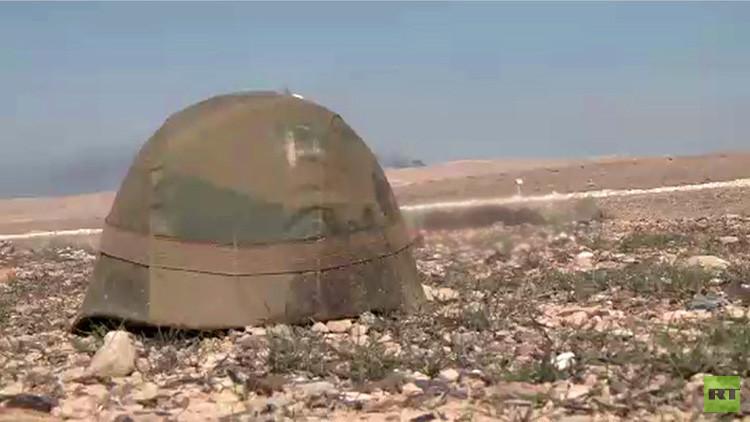 IMÁGENES PERTURBADORAS: RT revela las atrocidades del Estado Islámico cerca de Palmira