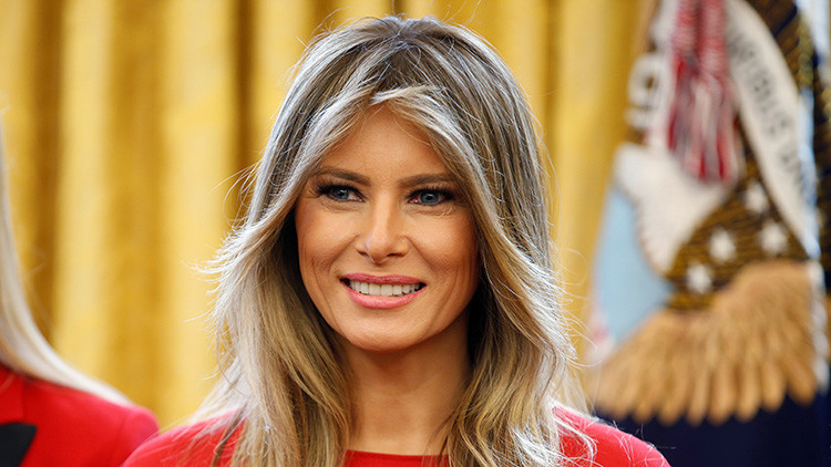 Melania Trump es valorada positivamente por más estadounidenses que su marido
