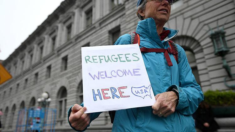 Los Estados de Nueva York y Washington desafiarán el nuevo veto migratorio de Trump