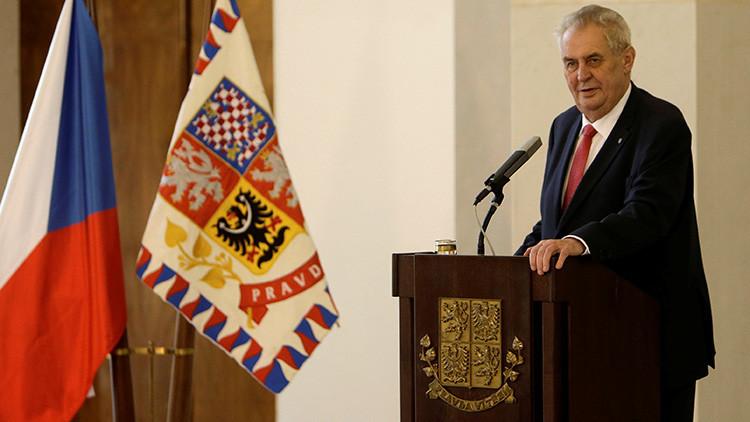 """Presidente de República Checa: """"Soy agente de Rusia, de Putin, de China y de Trump"""""""