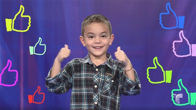 Habla inglés, árabe y ruso: Este niño colombiano de 5 años tiene el intelecto de Einstein