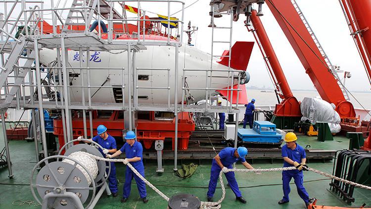 Al fondo del mar: China prepara un submarino para llegar a 11.000 metros de profundidad