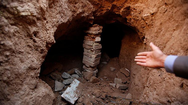 FOTOS: Encuentran un palacio de más de 2.600 años en túneles construidos por el Estado Islámico