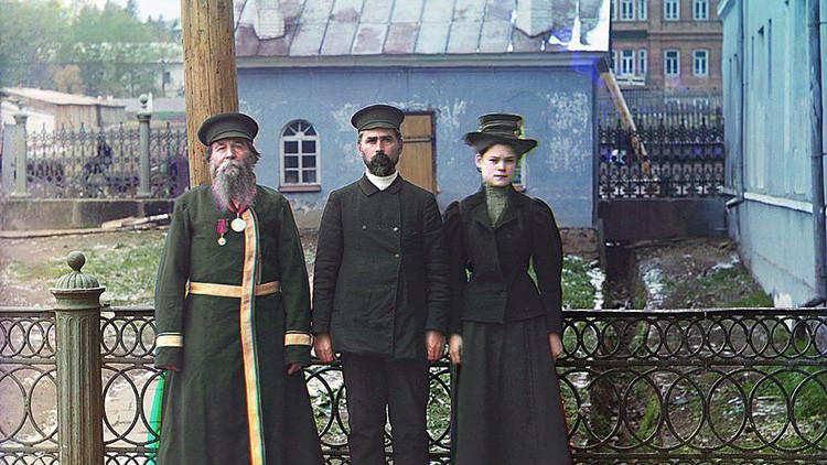 El Imperio ruso antes de la Revolución de 1917, a todo color