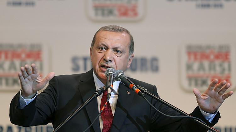 """Erdogan: """"Los Países Bajos actuaron como una república bananera y no como un Estado de la UE"""""""