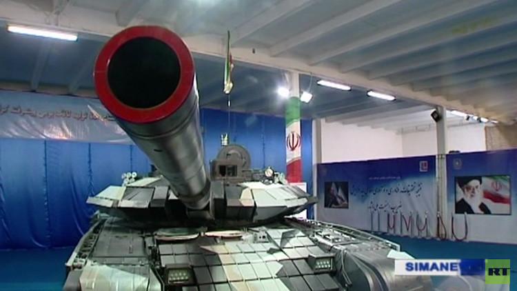 """VIDEO: Irán presenta su propio tanque de batalla, """"tan letal como el T-90 ruso"""""""