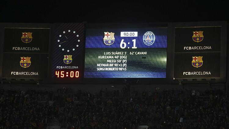 ¿Una locura?: Crean una petición para que se repita el partido entre el Barcelona y el PSG