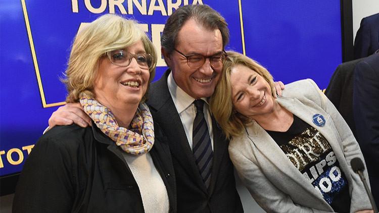 """""""No nos arrepentimos de nada"""". Primeras declaraciones de Artur Mas tras conocer su condena"""