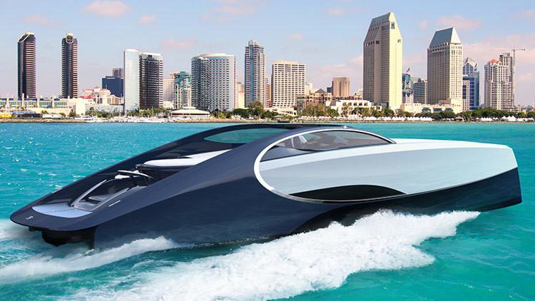 FOTOS: Así es el lujoso yate de Bugatti, la nueva joya de los mares