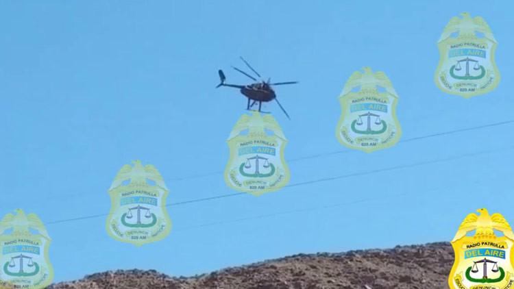 VIDEO: Se estrella un helicóptero de rescate y mueren sus 4 tripulantes en México