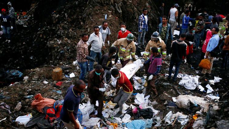 Etiopía se hunde en la basura: La avalancha en un vertedero gigante deja 113 muertos