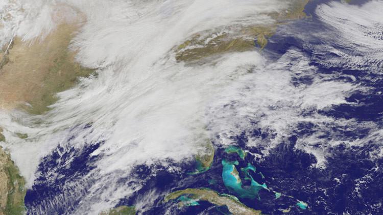 La NASA capta dramáticas imágenes de las tormentas de nieve que azotan EE.UU. (VIDEO)