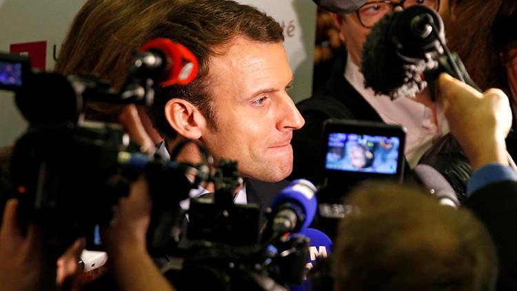 Francia acusa al candidato presidencial Emmanuel Macron de otorgar contratos a dedo