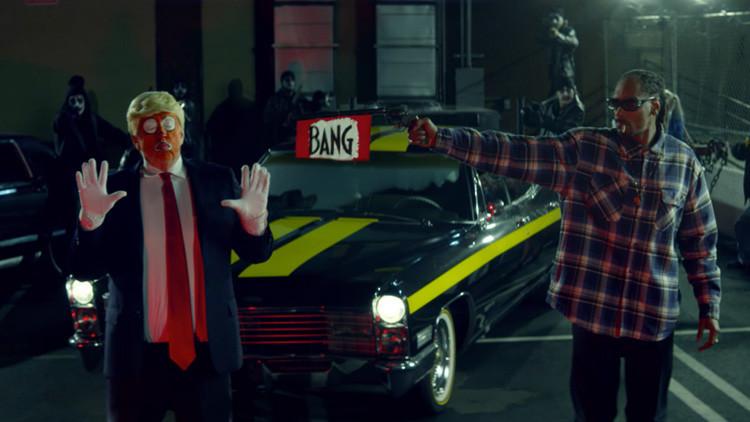 Snoop Dogg dispara a Trump en un polémico videoclip y el presidente le contesta indignado