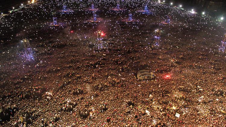 Difunden un nuevo video de cómo se vivió la avalancha durante trágico concierto en Argentina