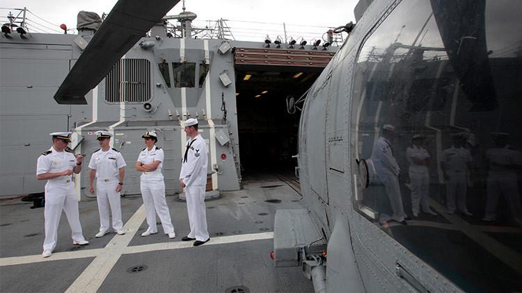 Secretos militares por fiestas sexuales: acusan de corrupción a oficiales de la Armada de EE.UU.