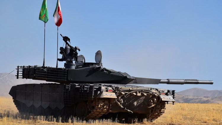 El nuevo tanque iraní despierta el pánico en Israel