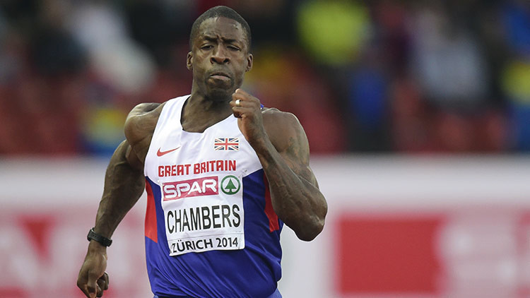 Este atleta no venció a Usain Bolt pero sí es más veloz que un caballo (VIDEO)
