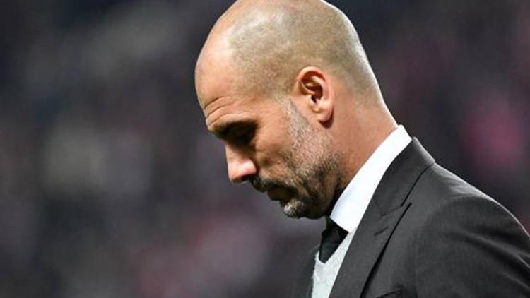Guardiola 'hace historia': por primera vez queda fuera de los cuartos de final en Liga de Campeones