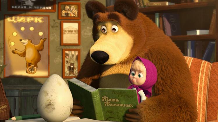 Serie animada rusa 'Masha y el Oso', la más vista de la historia en YouTube