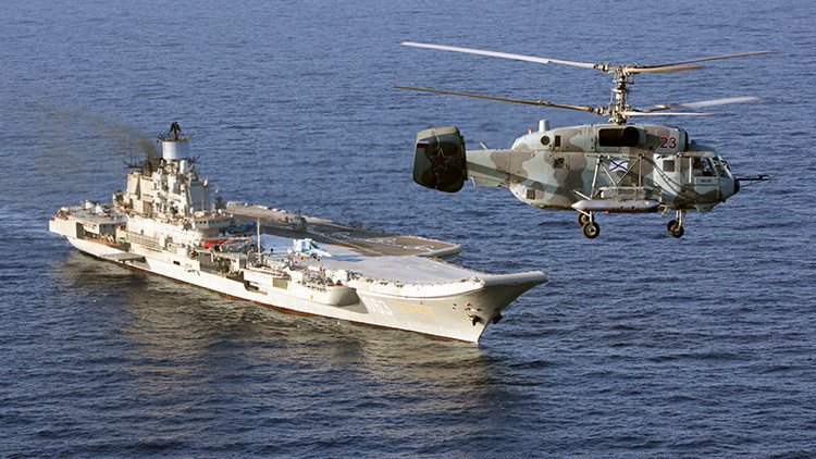 Rusia determina los planes 'rompedores' de desarrollo de su aviación naval