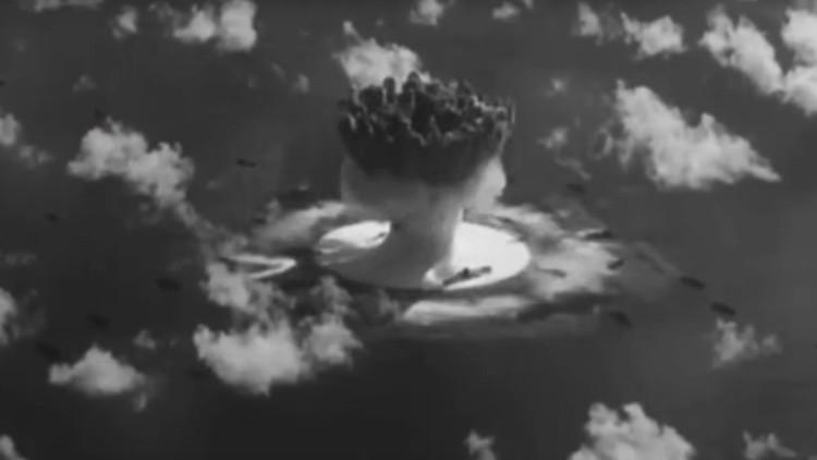 Desclasifican por primera vez ensayos nucleares de EE.UU. durante la Guerra Fría (VIDEOS)