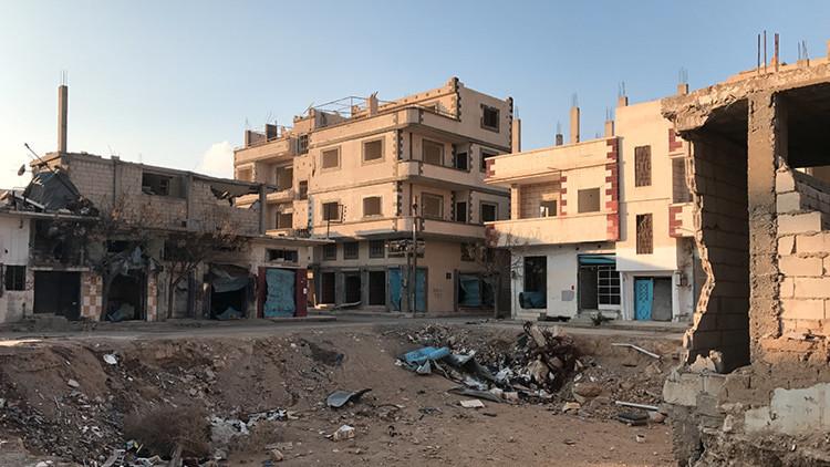 Rusia intensifica el desminado de Palmira con el envío de un nuevo grupo de zapadores