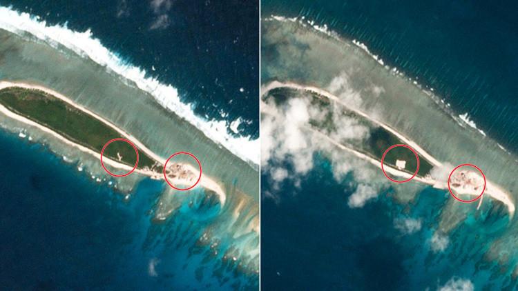 China  avanza en la construcción de enclaves previsiblemente militares en el Mar Meridional