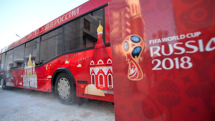 11 ciudades rusas calientan motores futboleros para la Copa del Mundo 2018 con un 'flashmob' (Video)