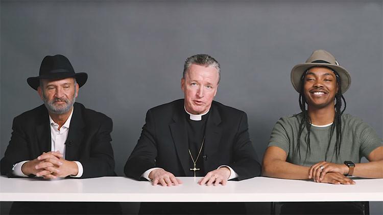 Un rabino, un sacerdote y un ateo homosexual fuman marihuana juntos y esto es lo que ocurre (VIDEO)