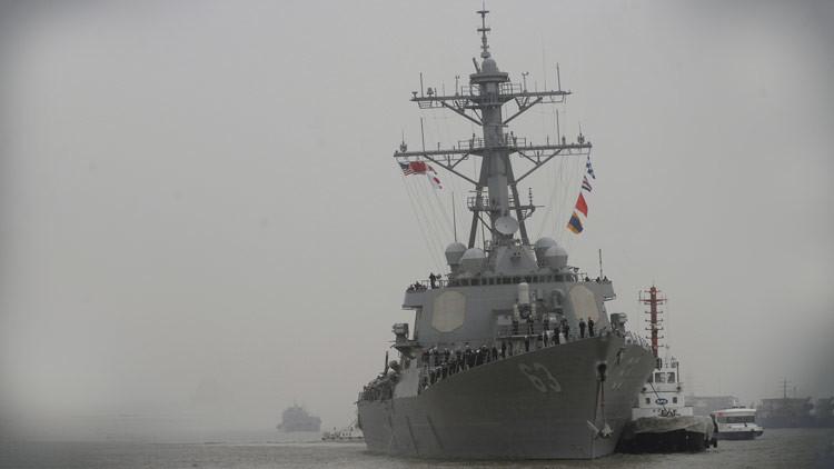 Llega a Corea del Sur un destructor de EE.UU. equipado con antimisiles Aegis