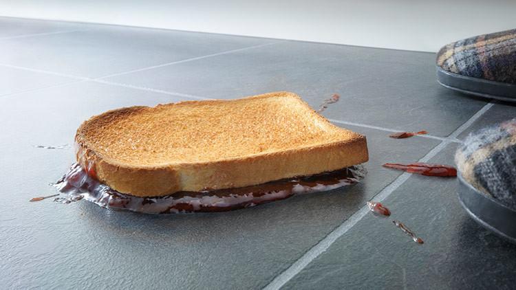 'La teoría de los 5 segundos' para la comida caída en el suelo funciona
