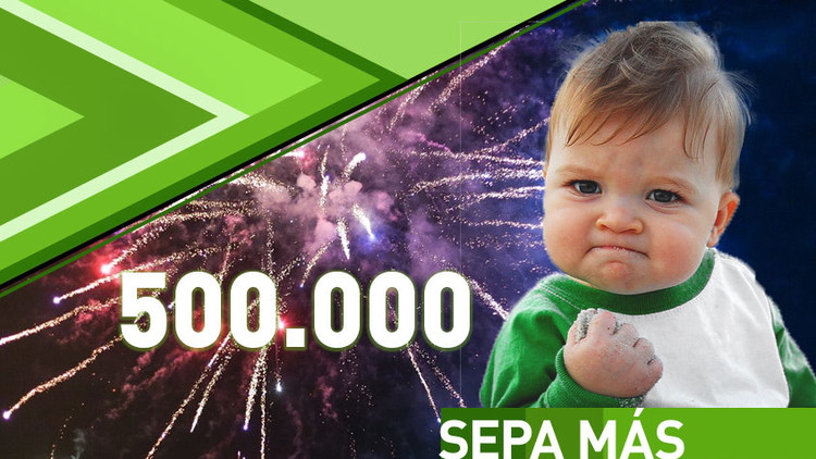 RT Play en Español alcanza el medio millón de suscriptores