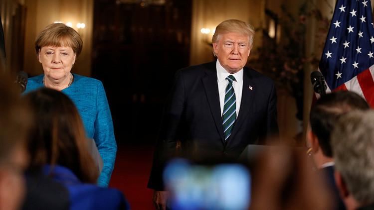"""Trump sobre Merkel y el escándalo de espionaje: """"Por lo menos tenemos algo en común"""""""