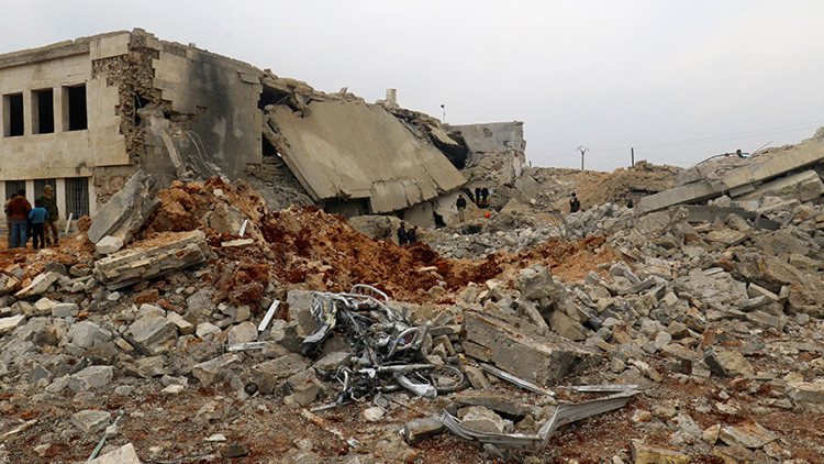 """La mezquita destruida en Alepo: EE.UU. ofrece explicaciones """"incriminatorias"""""""