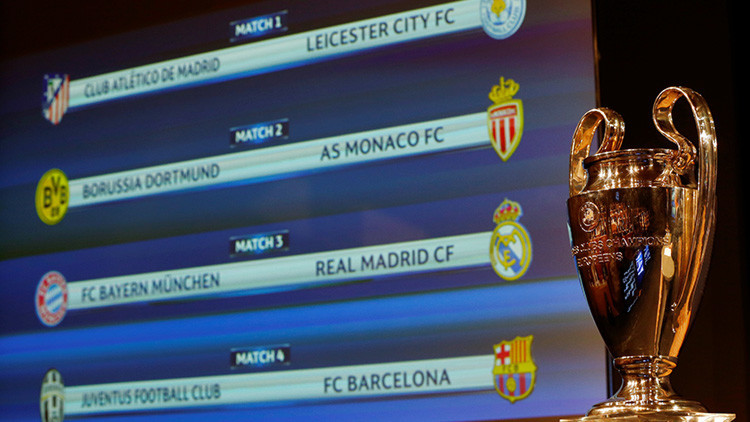 Las posibilidades que tienen los equipos para avanzar a semifinales de la Liga de Campeones