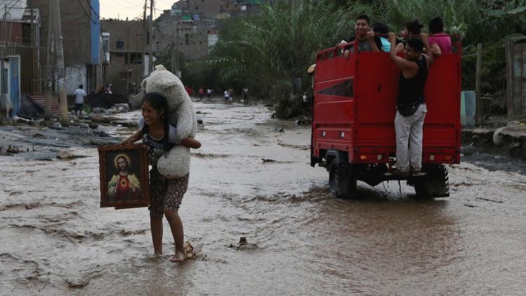 La crudeza de la época de lluvias: Perú llora ya a 62 fallecidos