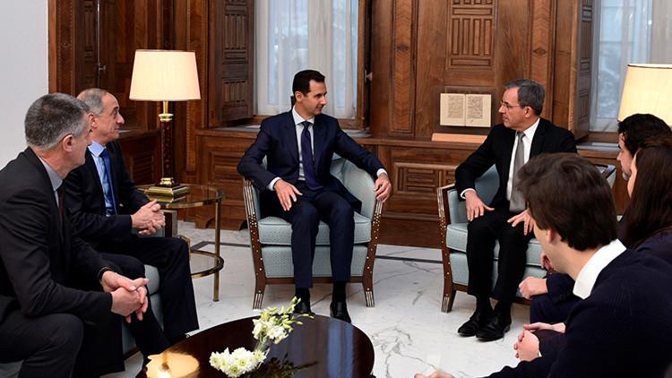 """Diputados franceses: """"Ayudar a terroristas a deshacerse de Assad fue una mala idea"""""""