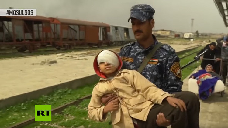 Brutal combate en Mosul entre el Ejército iraquí y el Estado Islámico (VIDEO)
