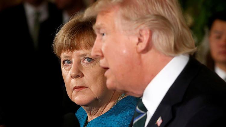 """Insultos y fracaso en todos los frentes: Por qué la reunión con Trump fue """"catastrófica"""" para Merkel"""