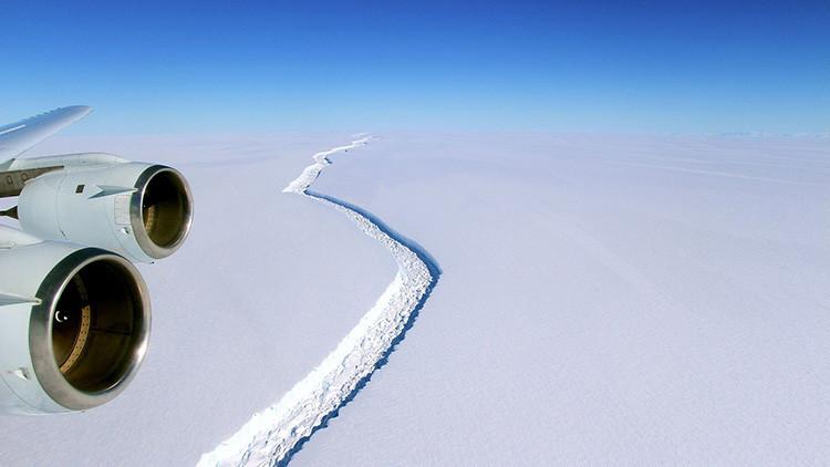 Argentina registra una grieta que dejaría a la deriva un bloque de hielo dos veces mayor que Moscú